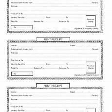 Rent Receipt India Rent Slip Format India Chezvictor Me