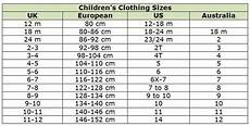 Clothing Size Chart Clothing Size Conversion Charts