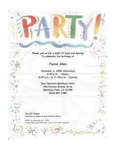 Invitation Letter Christmas Party Christmas Party Invitation Letter With Images
