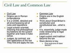 Common Law Vs Civil Law Ppt Civil Law And Common Law Powerpoint Presentation