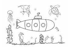 Ausmalbilder Fische Meer Ausmalbild Fische Meer Kinder Ausmalbilder