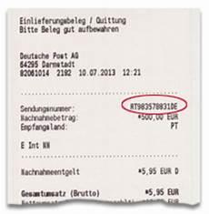 Tdl Tracking Deutsche Post Brief Sendungsstatus