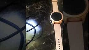 Samsung Galaxy Watch 42mm Review - Rose Gold