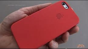 Official Apple iPhone 5S Case Review