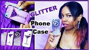 Custom Glitter iPhone Case Designs (DIY) ♥