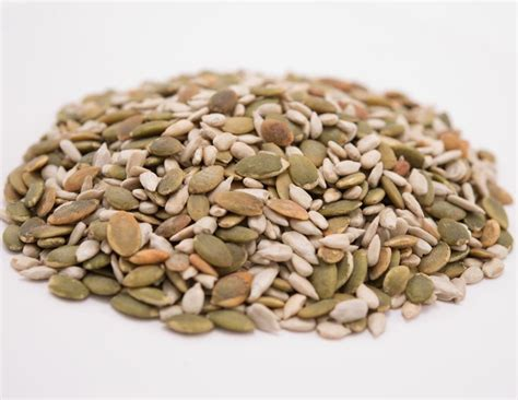unsalted pumpkin sunflower seed mix mygerbs