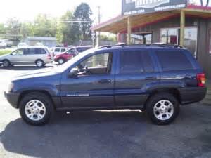 2000 Blue Jeep Grand 2000 Jeep Grand 4dr Laredo Blue