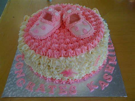 Decorating Ideas For Baby Shower Cake Baby Shower Cake Shoes Cake Decorating Community
