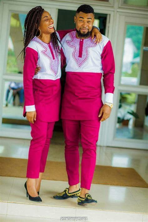 Un bel couple   1   Mode africaine robe, Tenue africaine