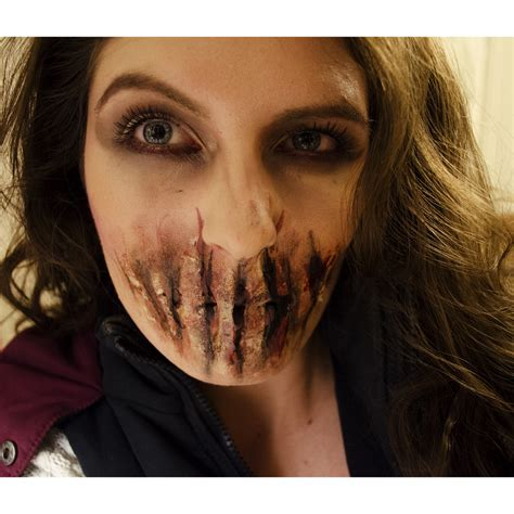 zombie tutorial easy easy sfx zombie bane halloween makeup facepaint i did