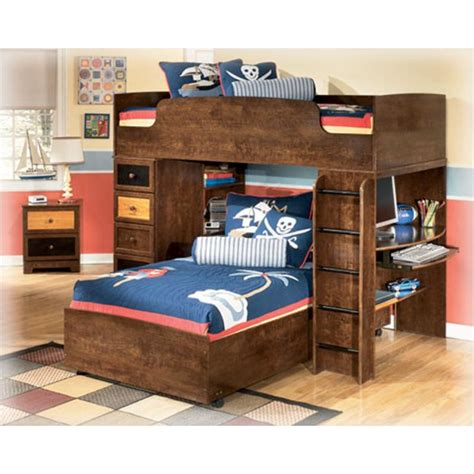 ashley furniture alexander bedroom loft bunk bed top
