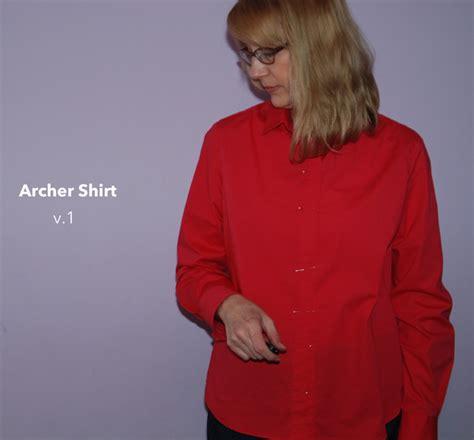 Archer Shirt Pattern Review | grainline studio archer shirt 11004 pattern review by