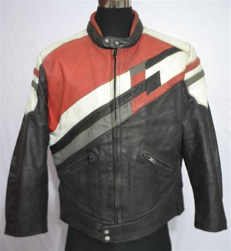eurox collection s motorcycle thick leather jacket