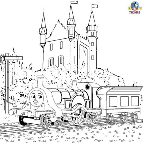 emily train coloring page thomas the train and friends coloring pages online free