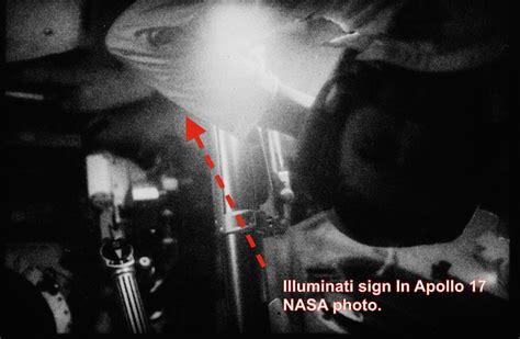 ufo sightings daily illuminati sign on astronaut in