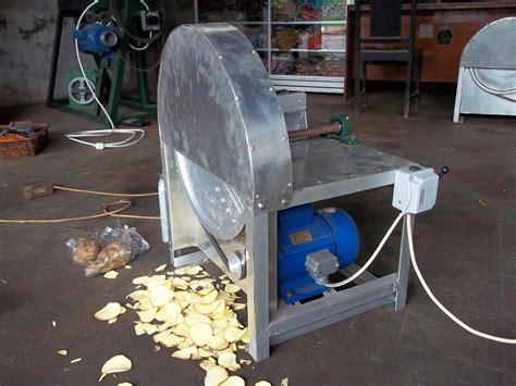 Pemotong Singkong Otomatis jual mesin perajang kripik otomatis harga murah sleman