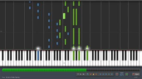 tutorial piano debussy claude debussy clair de lune piano tutorial 50 speed