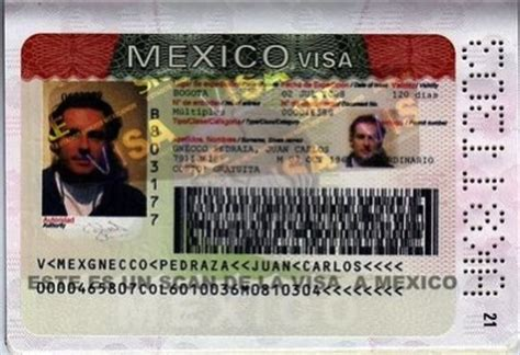requisitos para visa de turista requisitos de la visa de turista mexicana para visitar san
