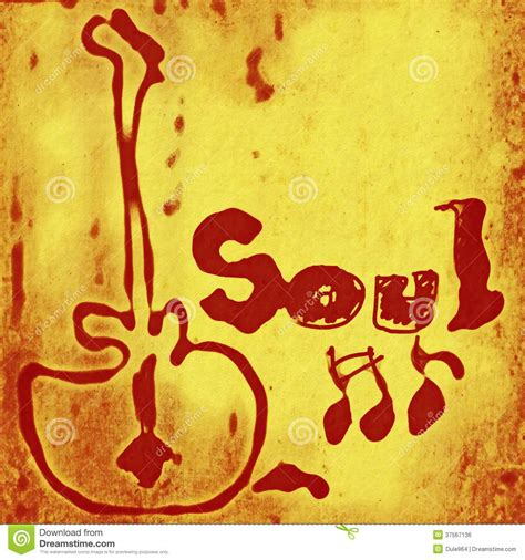 Soul Music Word Royalty Free Stock Image Image 37567136