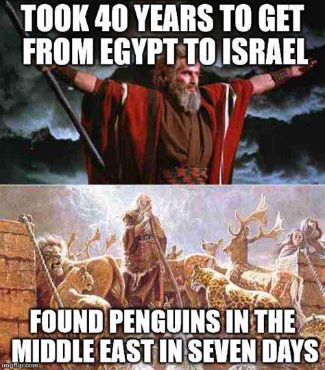 Egyptian Memes - moses vs noah imgflip