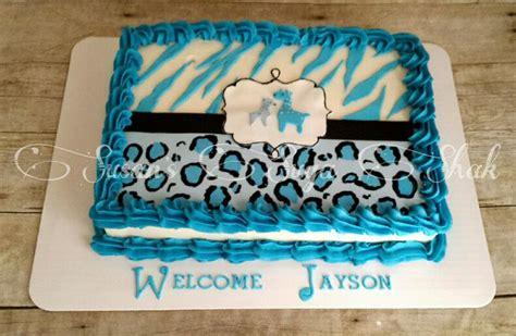 Blue Safari Baby Shower Cake by Best 25 Safari Baby Shower Cake Ideas On