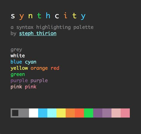 atom themes github github phest synthcity atom syntax synth city syntax