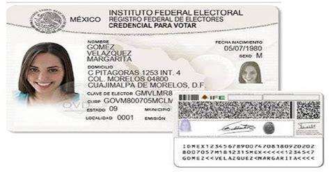 el ife presenta el nuevo formato de la credencial de elector el ife presenta el nuevo formato de la credencial de