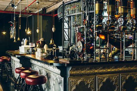 cape town shop promotes excellent coffee   steampunk design