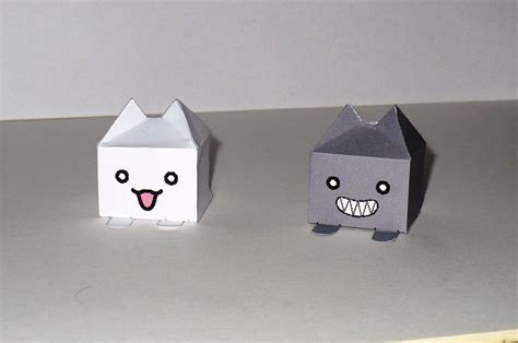 cube paper craft cube paper crafts