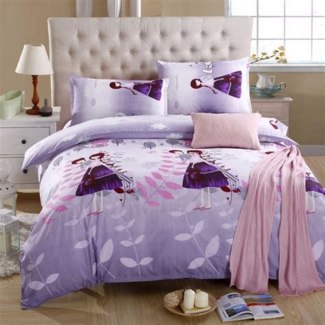 fiberfill comforters 3 or 4pcs suit lover printed reactive dyeing polyester