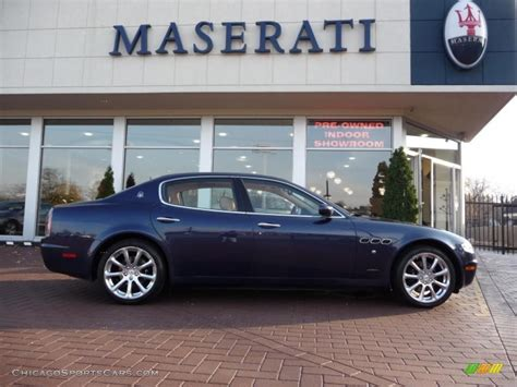 blue maserati quattroporte 2006 maserati quattroporte blue 200 interior and