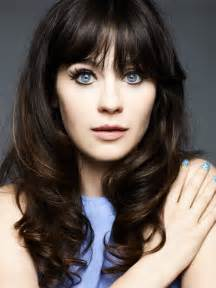 zooey deschanel hair color cool winter seasonal color palette zooey deschanel and