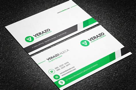 professional business card template clean professional business card business card templates