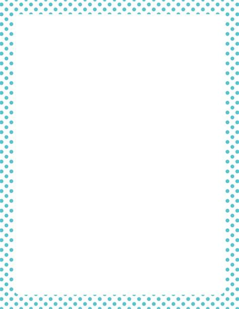 dot pattern border printable blue and white polka dot border free gif jpg