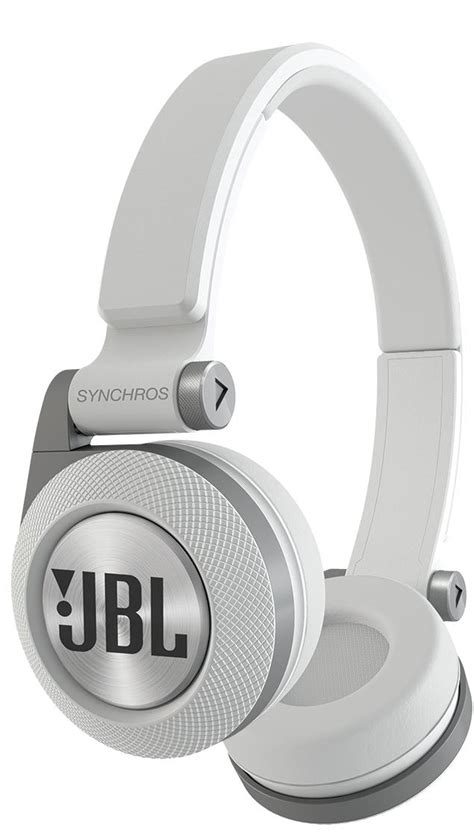 Earphone Jbl E30 genuine jbl synchros e30 performance on ear headphones with universal mic white ebay