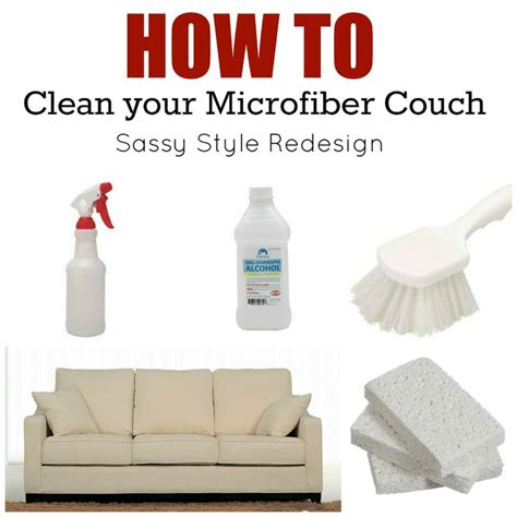 how to clean a sofa you should probably know this about microfiber couch