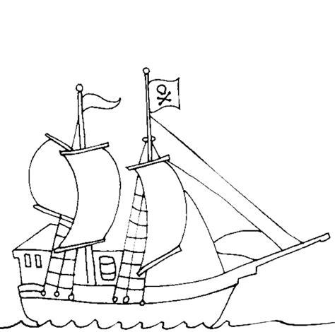 barco pirata dibujo a lapiz barco pirata colorear dibujos