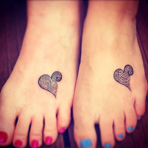 mother daughter foot tattoos collection of 25 and tattoos on