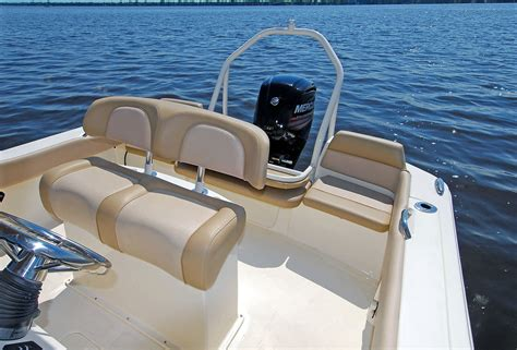scout boat bench seat scout 195 sportfish review boat