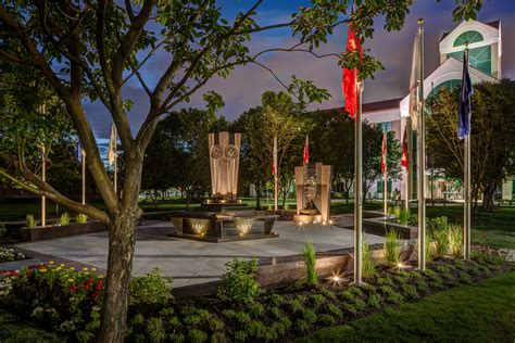 Landscape Lighting Utah Utah Freedom Memorial Feature Outdoor Lighting