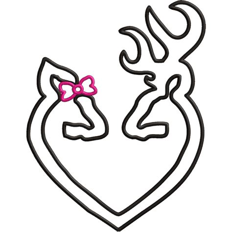 coloring page browning deer rebel flag browning logo cliparts co