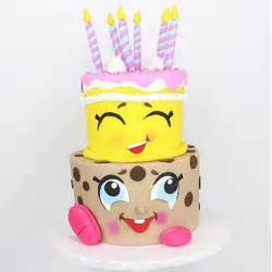 These are the ultimate shopkins birthday cakes that are too sweet to