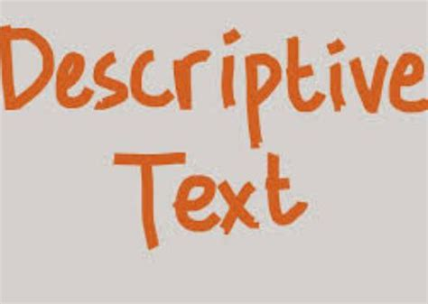 pengertian biography text bahasa inggris pengertian tujuan ciri dan generic structure descriptive