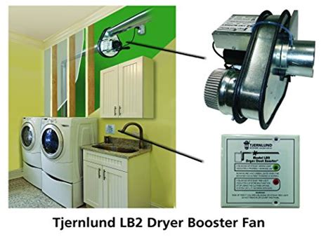 Tjernlund Lb2 Dryer Duct Booster With Status Panel Ul 705