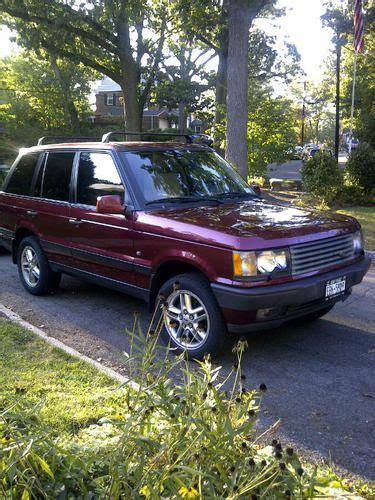 2000 range rover hse 4 6 buy used 2000 range rover 4 6 hse in larchmont new york