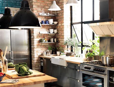Cuisine Style Atelier Industriel 3425 by Reussir Sa D 233 Coration Avec Des Luminaires Industriels