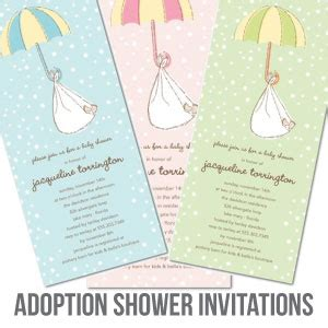 Adoption Shower Ideas by The Cutest Baby Shower Invitations Cutestbabyshowers