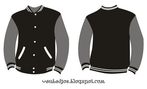 design jaket baseball coreldraw vanbadjoe design jaket baseball download