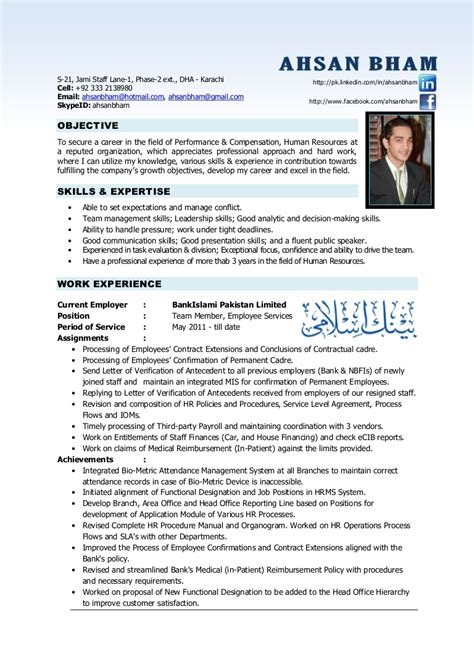 resume template for experienced professional format professionals