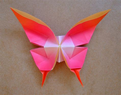 tutorial origami swallowtail butterfly origami maniacs origami swallowtail butterfly by evi